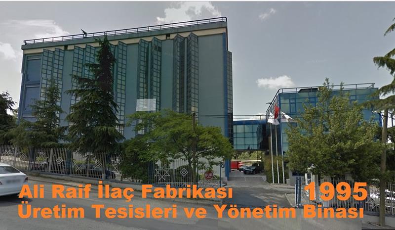 ALI RAIF ILAÇ FABRIKASI ÜRETIM TESISLERI VE YÖNETIM BİNASI <BR>ISTANBUL