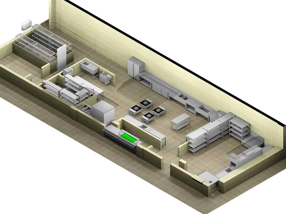 Star Krom Endüstriyel Mutfak Ekipmanları 0324 234 07 59 Proje 1