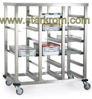 Konteyner Taşıma Arabası-Medikal Hastahane Ekipmanları