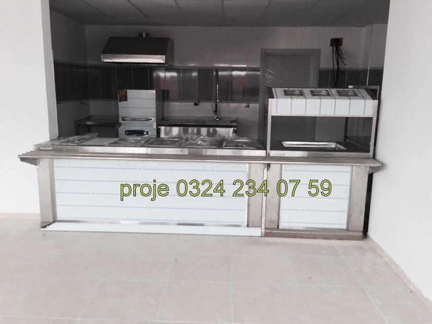 Endüstriyel Mutfak Proje-İmalat-Montaj