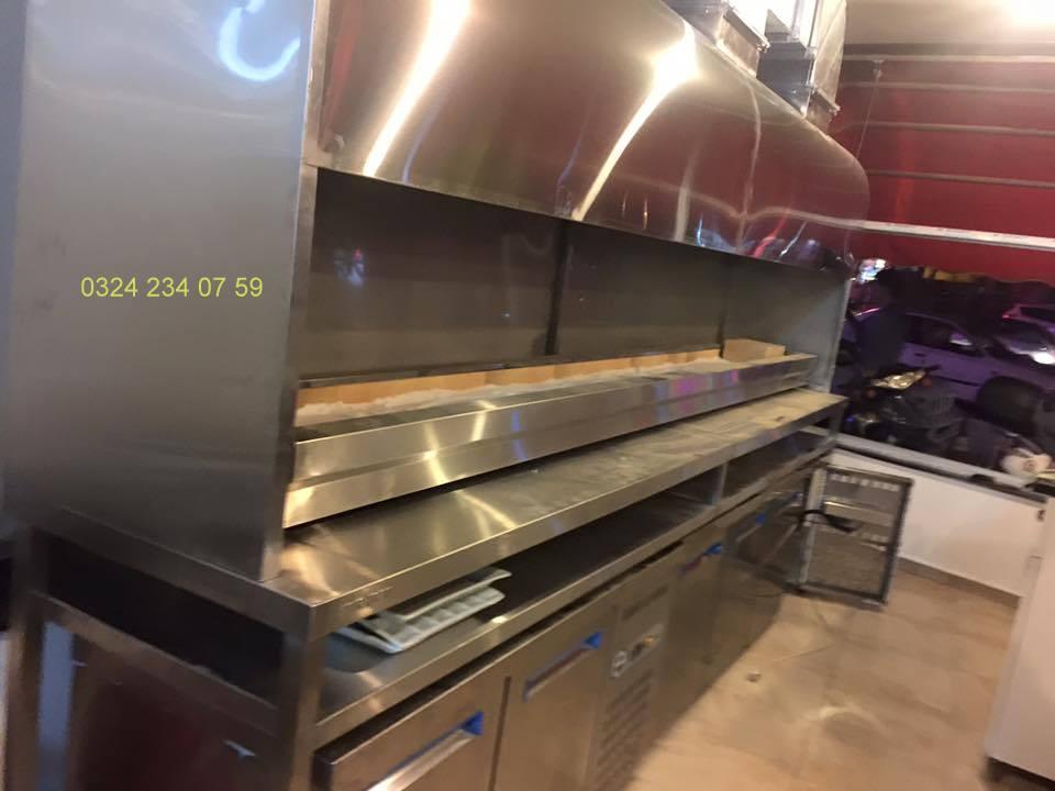Endüstriyel Mutfak Ürünleri Proje Montaj İmalat