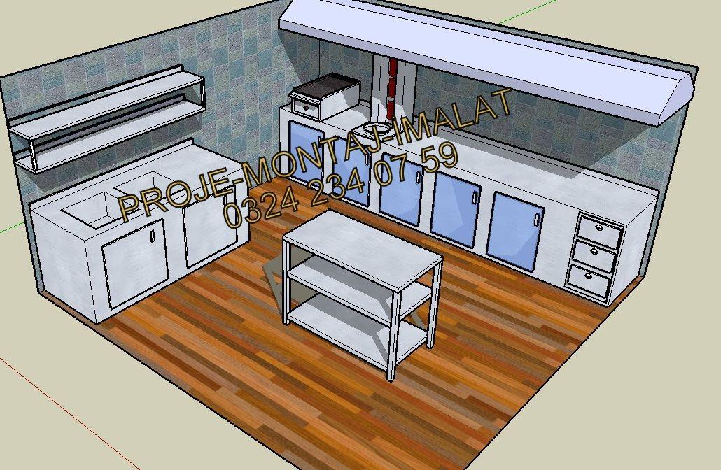Star Krom Endüstriyel Mutfak Ekipmanları 0324 234 07 59 Proje 8